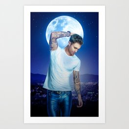 Adam Levine Lost Stars Art Print