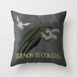 Ganon is Coming Throw Pillow