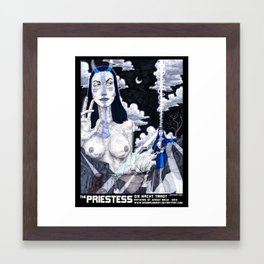 THE PRIESTESS Framed Art Print