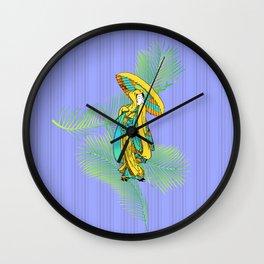 tropical geisha Wall Clock