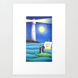 #21 – Salvezza per gli impavidi Art Print