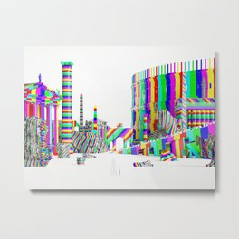 Color-Block Capriccio Metal Print