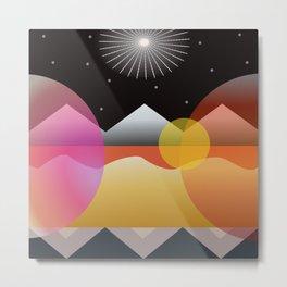 Solar Flares Metal Print
