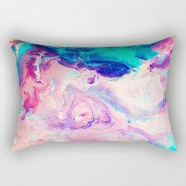Ice Paint Rectangular Pillow