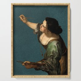 Artemisia Gentileschi, c. 1638 Serving Tray