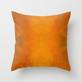 """Sabana Sunset Light Polka Dots"" Throw Pillow"