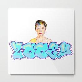 Zooey Art Metal Print