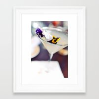 martini Framed Art Prints featuring Martini by kbattlephotography