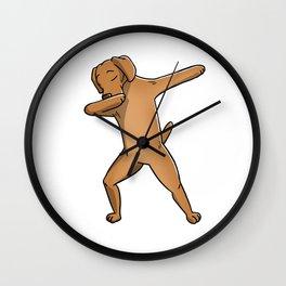 Funny Dabbing Vizsla Dog Dab Dance Wall Clock
