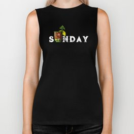 Drinking Sunday Bloody Sunday Bloody Mary Biker Tank