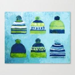 Caps Canvas Print