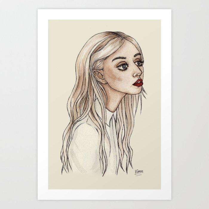 Creepy Chan Art Print