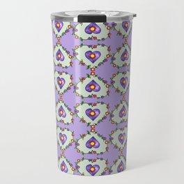 Heartily Floral Travel Mug