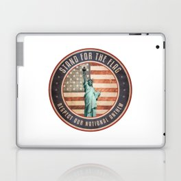 Stand For The Flag Laptop & iPad Skin