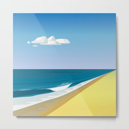 Rothko at the Beach Metal Print