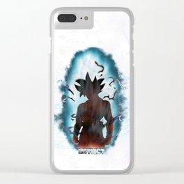 Son Goku - Limit Breaker Clear iPhone Case
