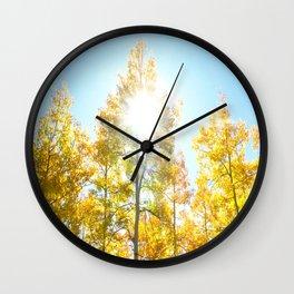 Autumn Joy Wall Clock