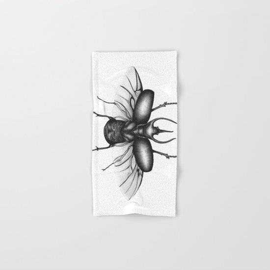Beetle Wings Hand & Bath Towel