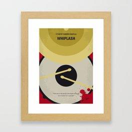 No761 My Whiplash minimal movie poster Framed Art Print