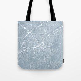 Knoxville Map, USA - Slate Tote Bag