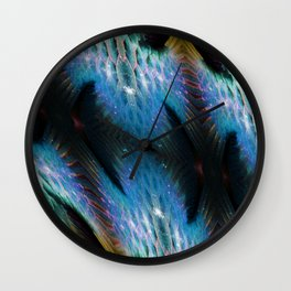 Midnight Mermaid Wall Clock