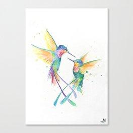 Hopeful Hummingbirds Canvas Print