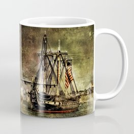 Tall ship USS Constitution Coffee Mug