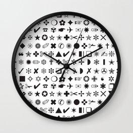 Zapf Dingbats Wall Clock