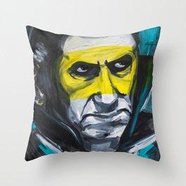 Drac - painting series Throw Pillow