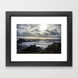 Hartland North Devon uk 3 Framed Art Print