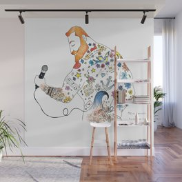 """Ginger Rocker"" Wall Mural"