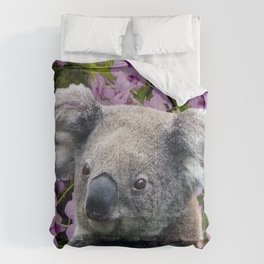 Koala and Orchids Comforters