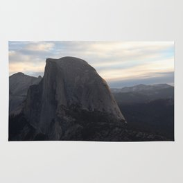 Sunrise at Half Dome Rug