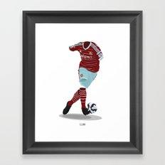 West Ham United 2014-15  Framed Art Print