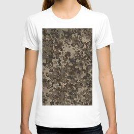 Rocky Desert Camo Pattern T-shirt