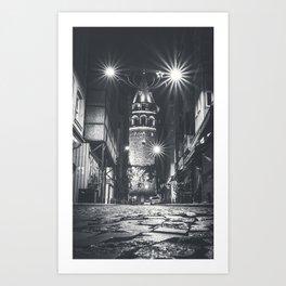 Istanbulian Night Art Print