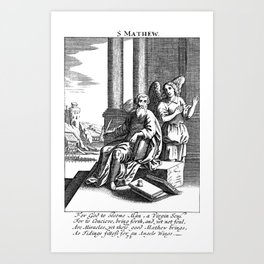 Matthew Art Print
