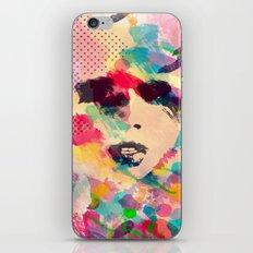 Abstract girl iPhone & iPod Skin