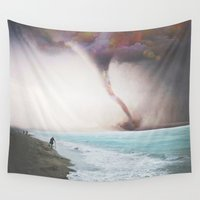 relax Wall Tapestries featuring RELAX by Troy Spino