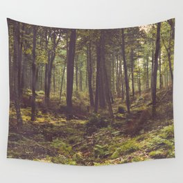 Forest by the Lake Wall Tapestry