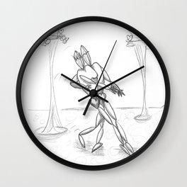 Rhyming Couplet #6 Wall Clock
