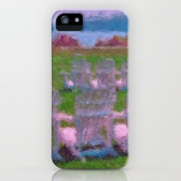 A Place to Reflect iPhone Case