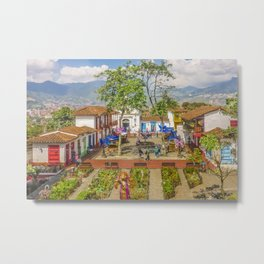 Pueblito Paisa, Medellin - Colombia Metal Print