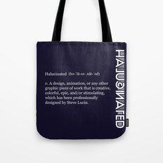 Halucinated Defined Remix Tote Bag