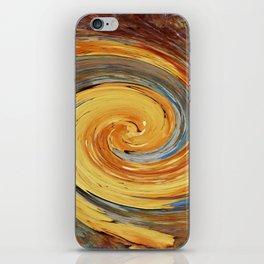 Swirl 03 - Colors of Rust / RostArt iPhone Skin