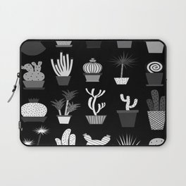 MIX SUCCULENTS2-B&W Laptop Sleeve