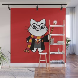 Wizardkitty Griffin House! Wall Mural