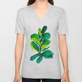 PLANT NO.009 Unisex V-Neck