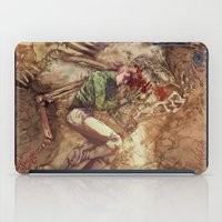 scary iPad Cases featuring Scary Monster by Fabi