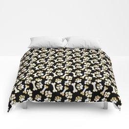 Golden Bones and Paws Comforters